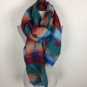 Accessories - ✨ANNUAL SALE✨NWOT Aztec Tribal Blanket Scarf